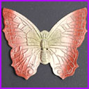 Old Dresden Christmas ornament BUTTERFLY
