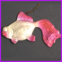 Old Dresden Christmas ornament FISH