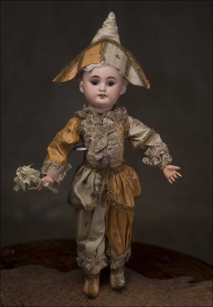 Кукла Полишинель, Франция-Германия, 1900-е годы, 42 см.