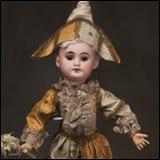 Кукла-Полишинель оригинальный костюм