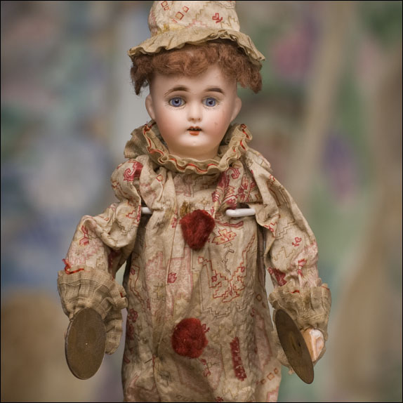 Rare Musical Clown Doll