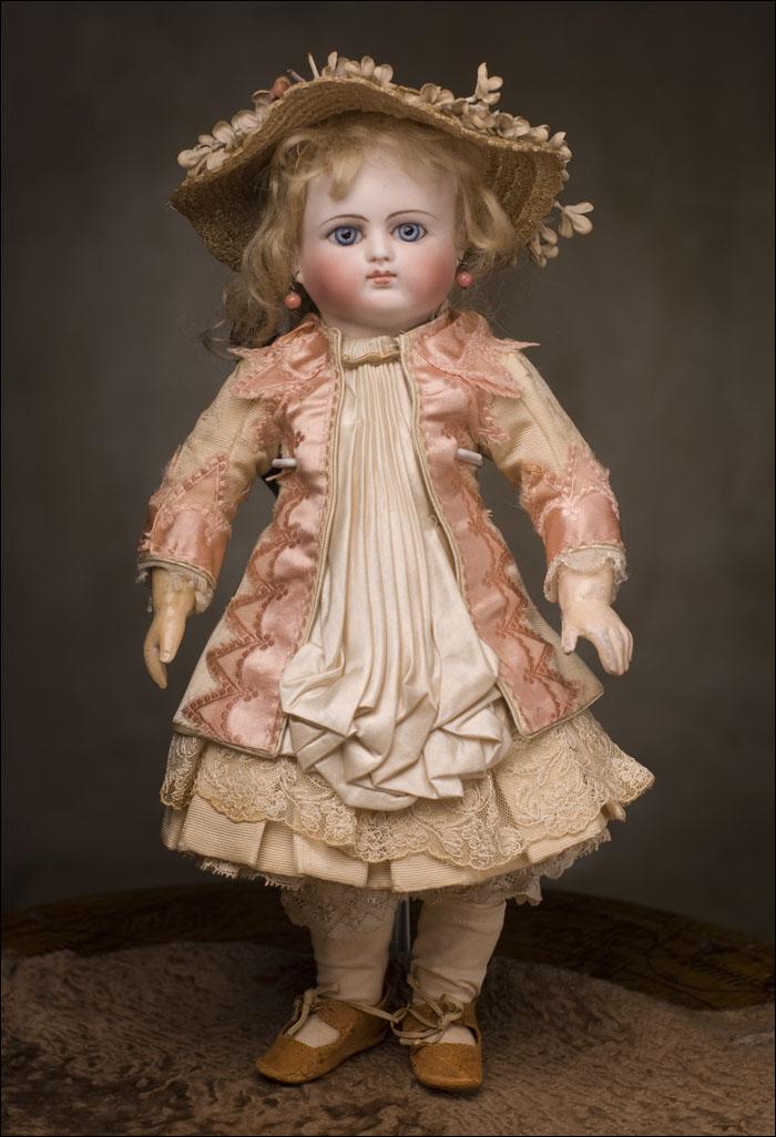 Редкая кукла фирмы  Schmitt & Fils - Париж, 1880 год, 36 см