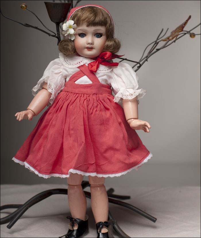 Rare French Bleuette doll