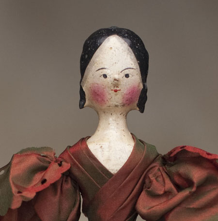 Early Wooden GROEDNERTAL DOll