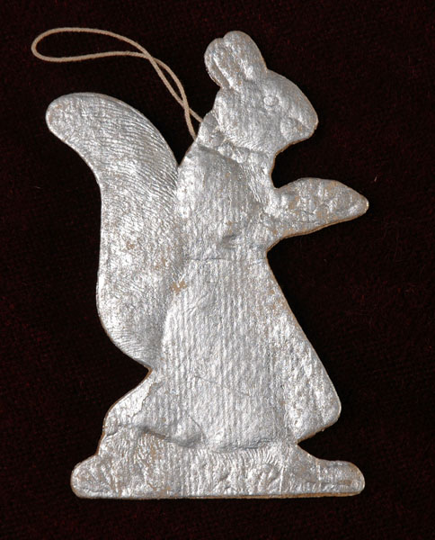 Antique Christmas ornament SQUIRREL