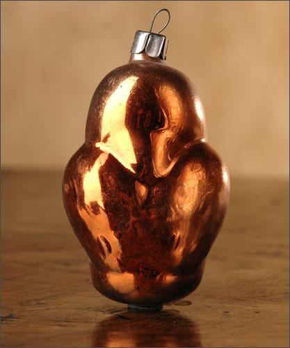 Antique Christmas ornament OWL