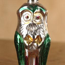 Old Christmas ornament OWL