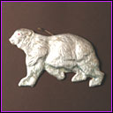 Antique Christmas ornament POLAR BEAR
