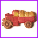 Rare Antique Christmas ornament TRUCK