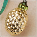 Antique Christmas ornament PINEAPPLE