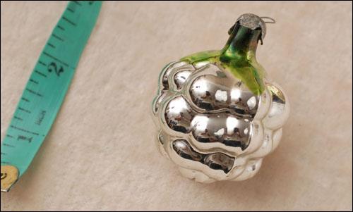 Antique Christmas ornament BERRY