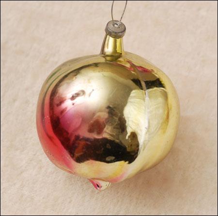 Antique Christmas ornament TURNIP