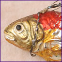 Antique German Christmas ornament FISH