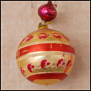 Antique glass German Christmas ornament