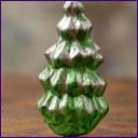 Antique glass Christmas ornament CHRISTMAS TREE