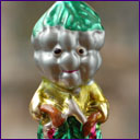 Antique Christmas ornament VINEGRAPEMAN from Cippolino Tale