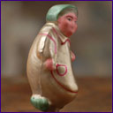 Antique Christmas ornament - HARICOT RAGMAN from Cippolino Tale