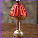 Antique Blown Christmas ornament TABLE LAMP