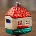 Antique Christmas ornament COUNTRY HOUSE
