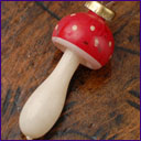 Antique Christmas ornament MUSHROOM