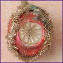 Antique Fancy Glass and Wire German Christmas ornament