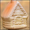 Antique Christmas ornament HOUSE