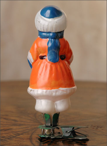 Antique Christmas ornament COSSACK BOY