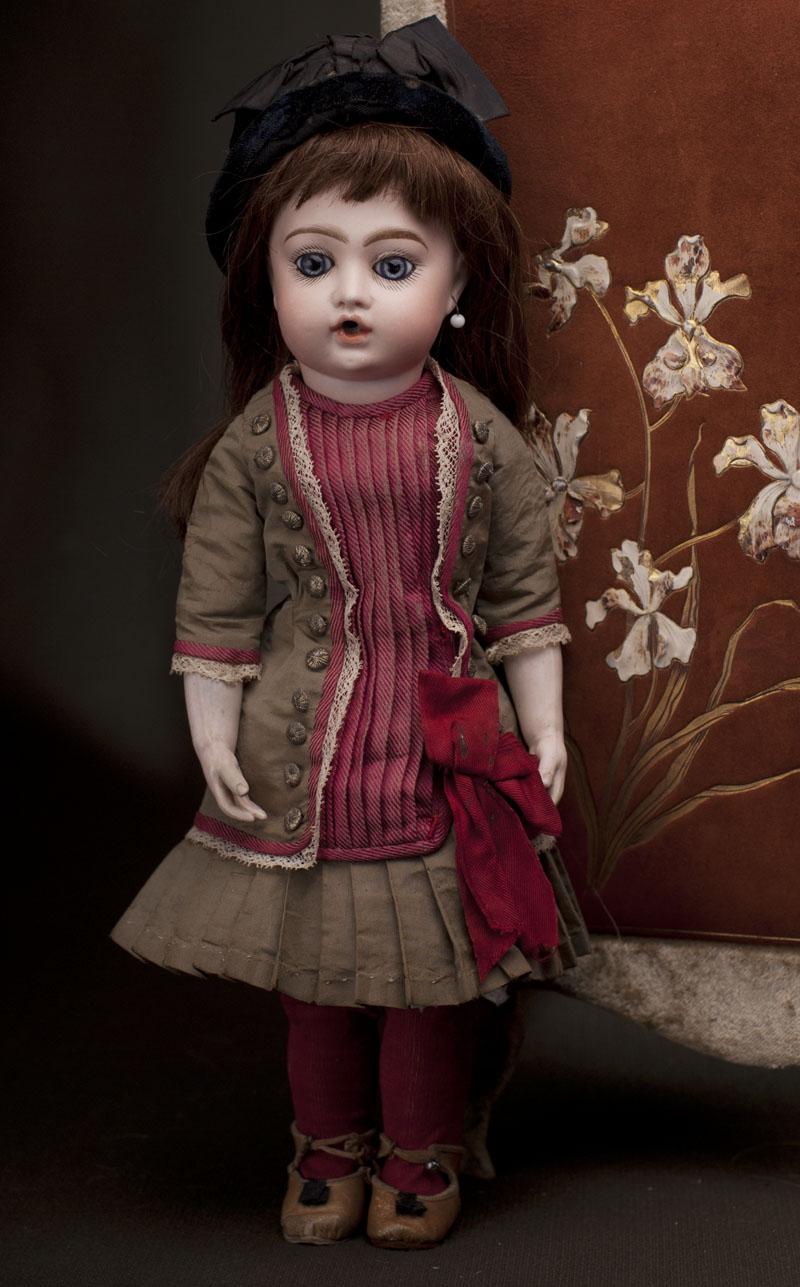 Куколка фирмы BRU-  Bebe Teteur - 32 см, 1885 год