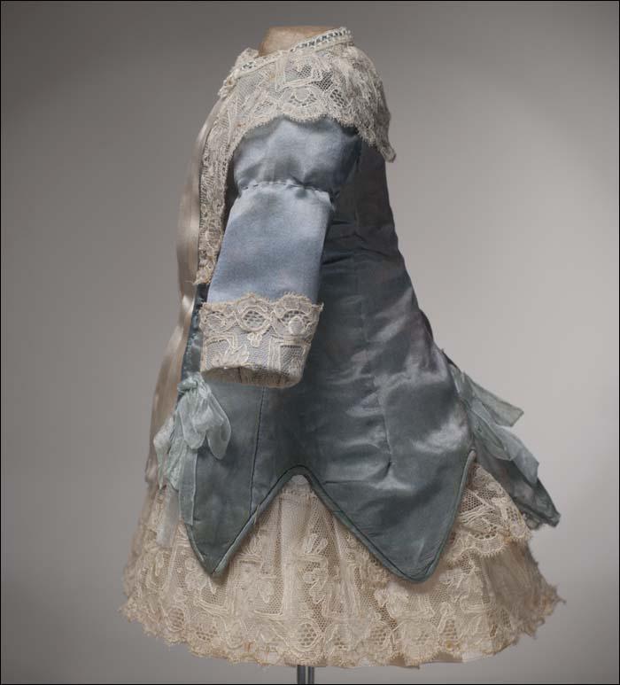 Aqua Silk Dress