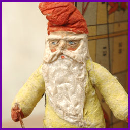 Antique Christmas ornament GNOME