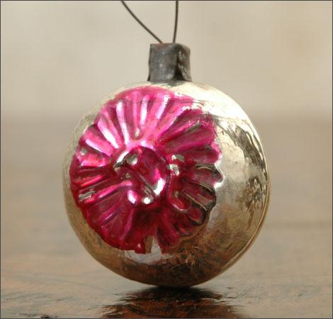 Antique Christmas ornament HAMMER & SICKLE