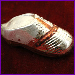 Antique German Christmas ornament SHOE