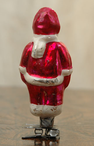 Antique Christmas ornament BOY IN WINTER DRESS