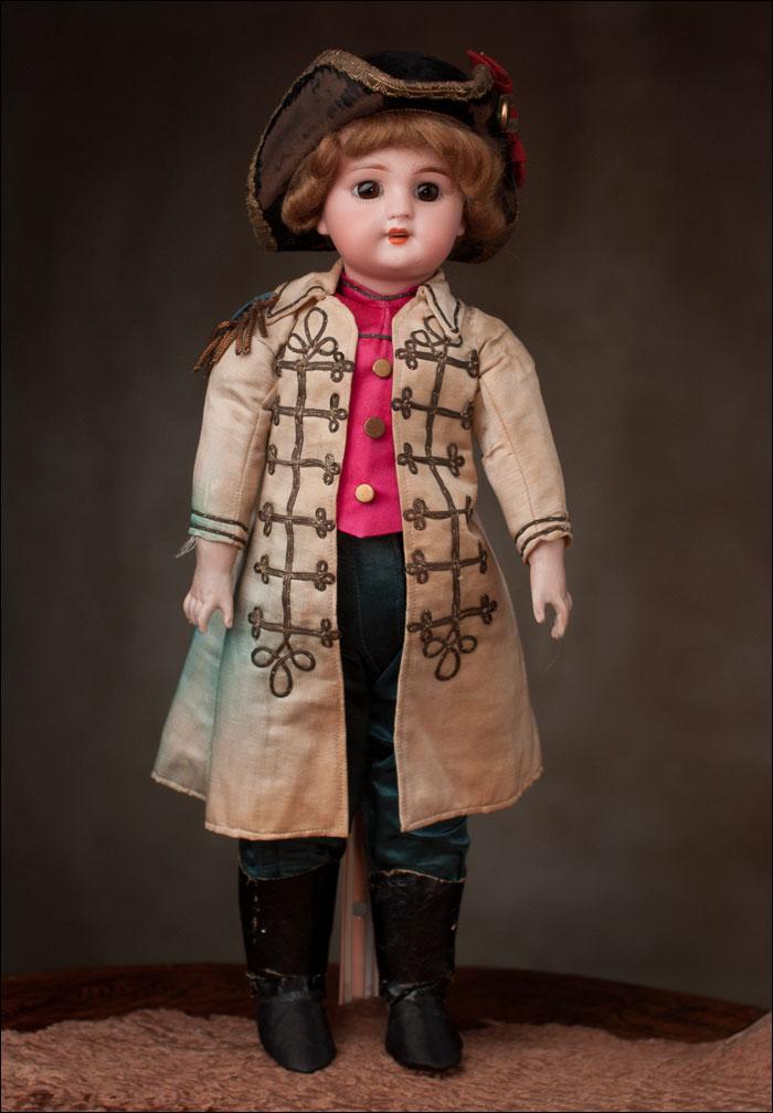 Необычная кукла- MAРКИЗ - Франция, DEP, 1900-е годы, высота 40 см.