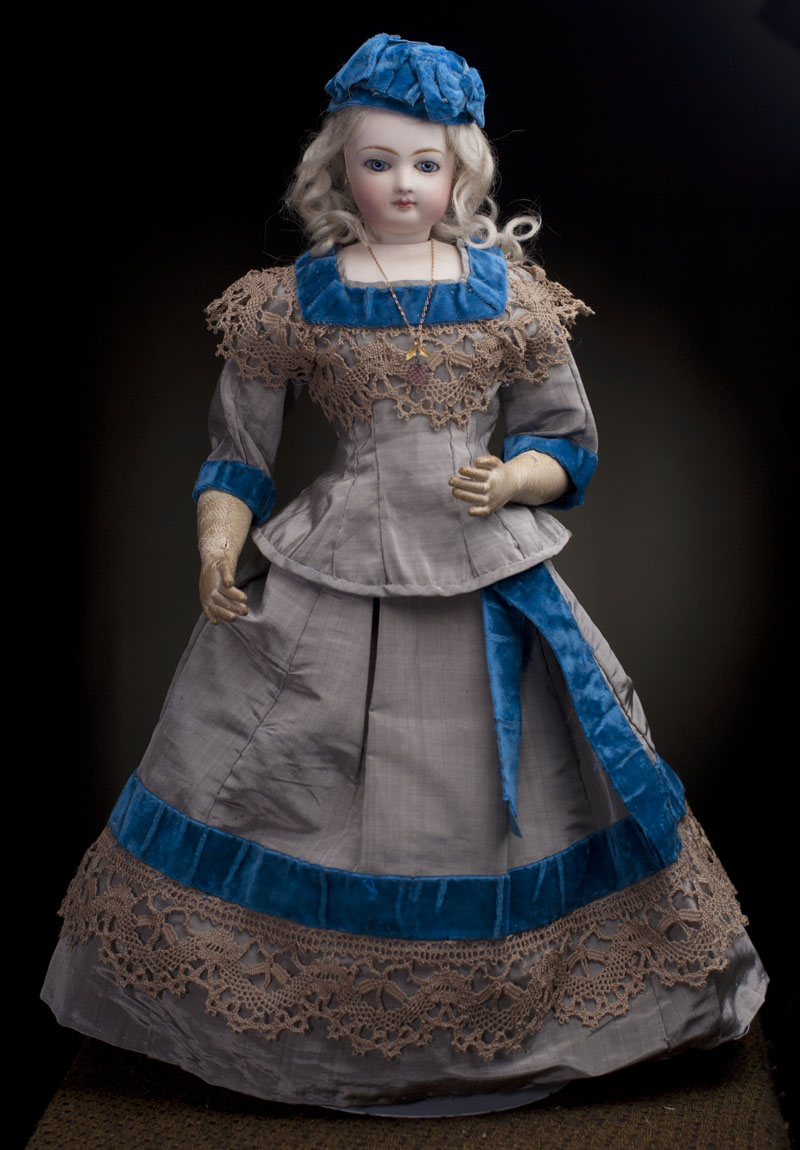 43 cм Модная кукла -леди Jumeau