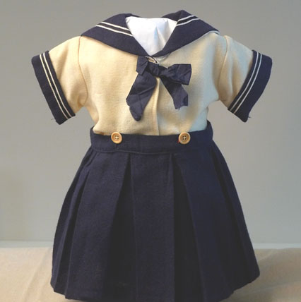French Sailor Doll Dress