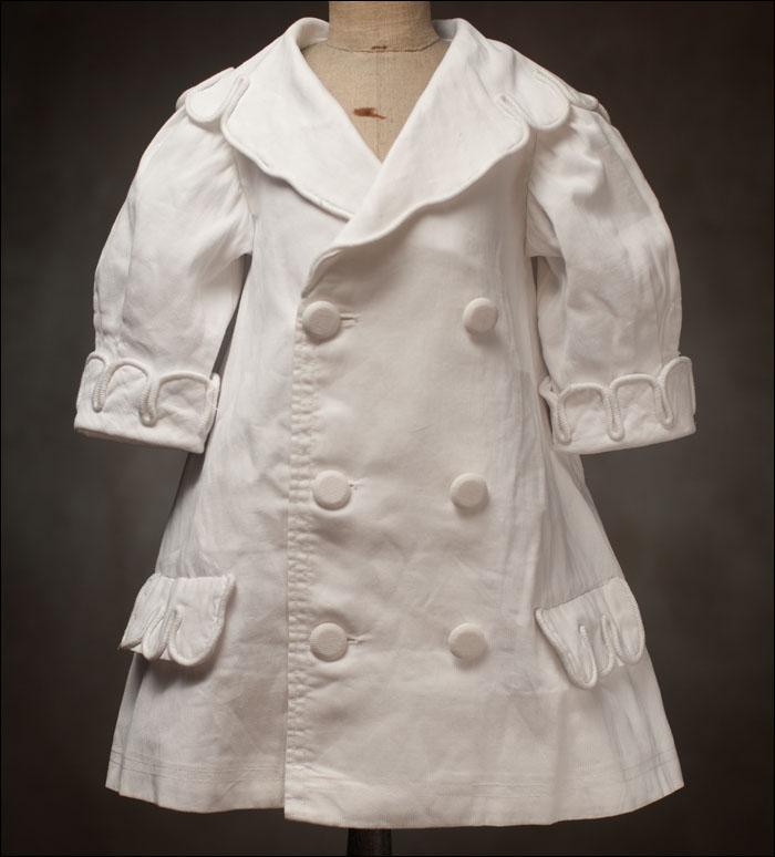 White Pique Coat