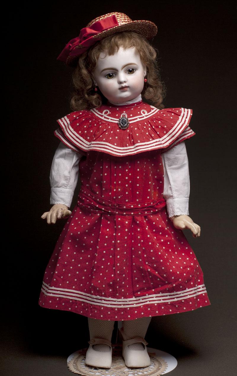 Ранняя кукла Готье 60 см, 1878 год!