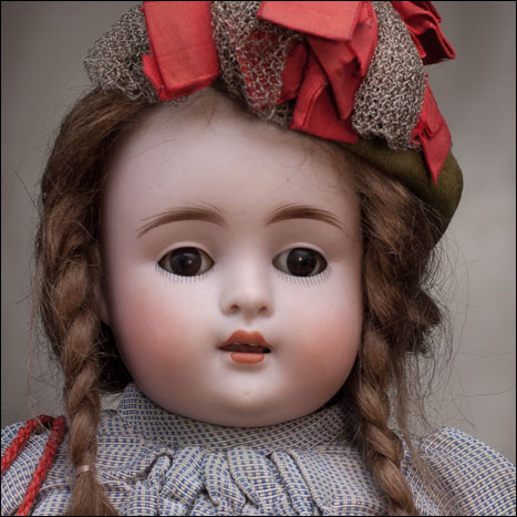 Large All Bisque Kectner Doll