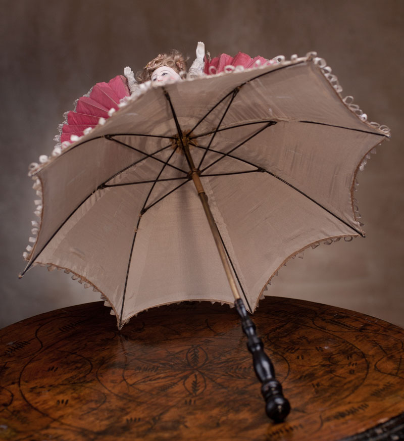 Как сделать зонтик для куклы своими руками из зубочисток 121
