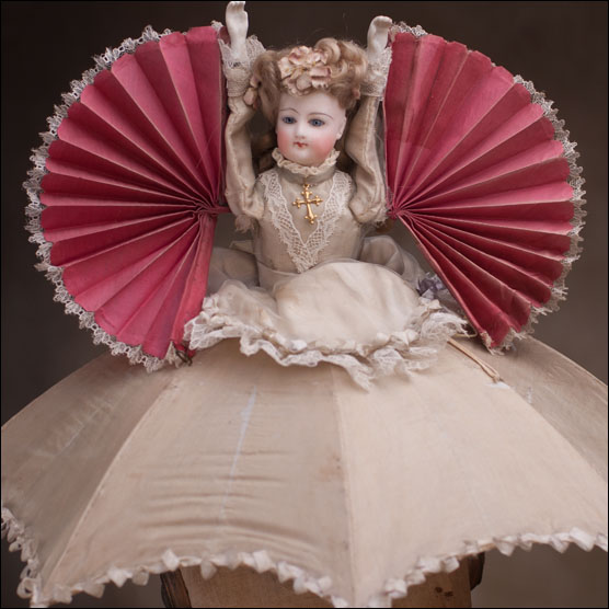 Rare FG Fan-Umbrella doll