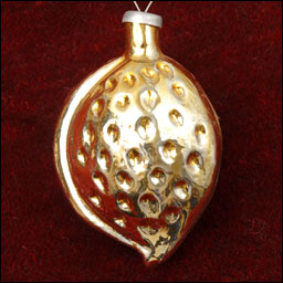 Antique Christmas ornament ALMOND