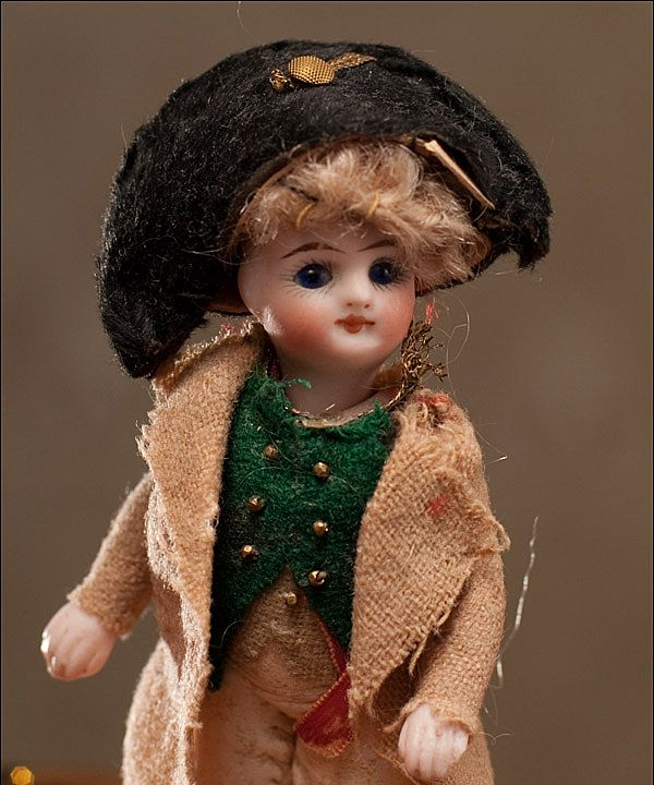Редкая французская куколка НАПОЛЕОН