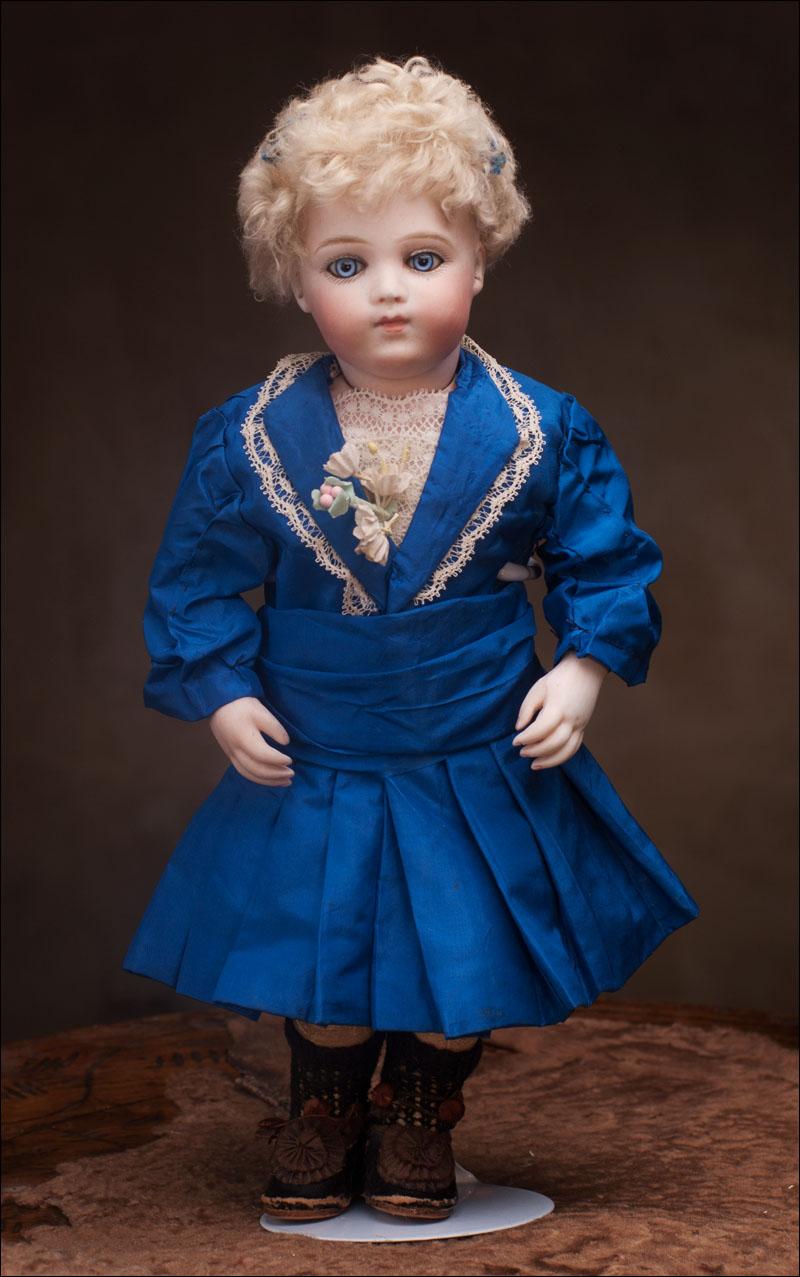 Очень красивая и редкая кукла BRU BREVETE высотой 28 см