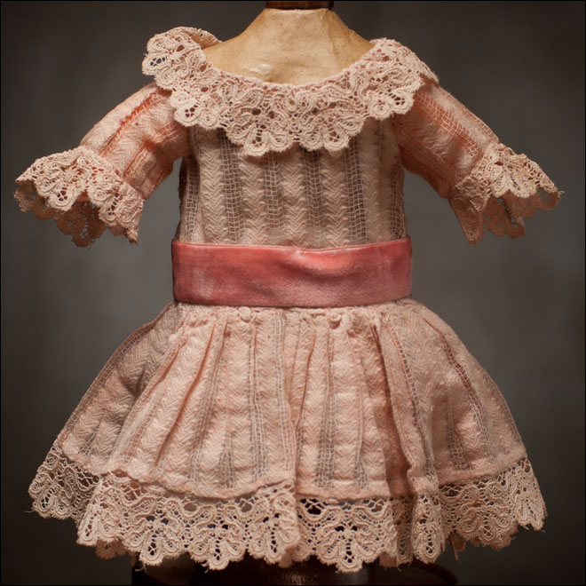 Antique Original Pale Pink Dress