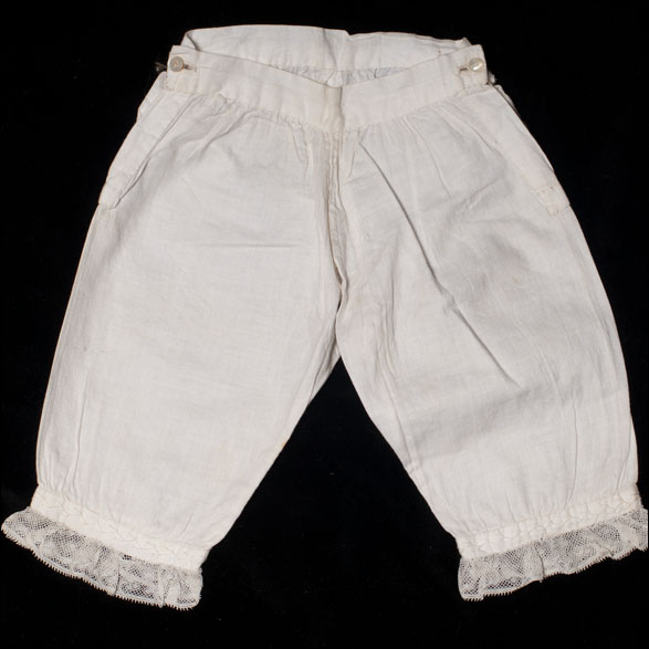 Antique pantaloon for doll