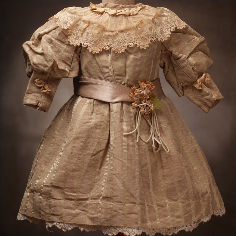 Antique French Silk Dress