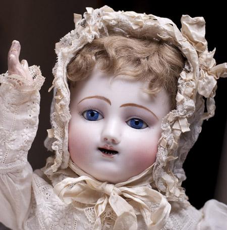 Rare Gigoteur Steiner bebe Doll