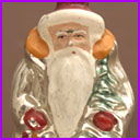 Vintage Christmas ornament  SANTA