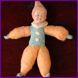Antique Christmas ornament CLOWN